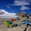 Glacier Tavan Bogd in the Mongolia - Stock Photo