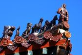 Roof of the buddhist monastery — Stock Photo