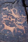 Petroglyphs in Mongolia — Stock Photo