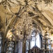 A Chandelier and Decoration from Human Sculls and Bones — Lizenzfreies Foto