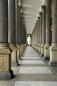 Colonnade in Carlsbad — Stock Photo