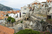 A View of the Old Town of Dubrovnik (Archeological Dig) — Stock Photo
