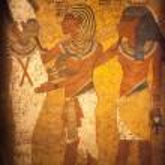 Egyptian Wall Mural — Stock Photo #22228133