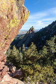 Flat Irons of Boulder — Stock Photo