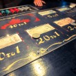 Stock Photo: Casino Betting Board
