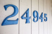 House Address Numbers — Stock Photo