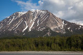 Alaska River and Mountain Wilderness — Stockfoto