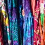 Tie Dye Dresses — Stock Photo #35358149