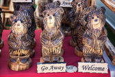 Carved Bear Decoration — Foto Stock