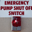 Stock Photo: Emergency Shut-off Switch
