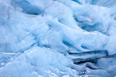 Glacial Blue Ice — Stock Photo