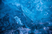 Glacial Blue Ice — Foto de Stock