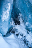 Glacial Blue Ice — Foto Stock