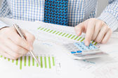 Banking, taxing and all things related with world of finance — Stock Photo