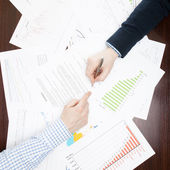Business, finance and all things related - 1 to 1 ratio — Stock Photo