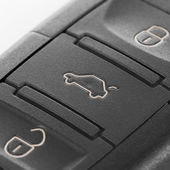 Macro shoot of car keys with remote control system - 1 to 1 ratio — Stock Photo