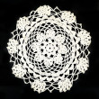 Stock Photo: Embroidery doily