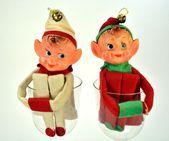 Elf figures — Stock Photo