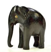 éléphant en bois — Photo