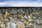 Hromadu štěrku — Stock fotografie