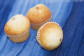 Freshly baked muffins — Стоковое фото
