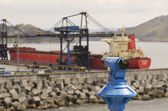 Commercial port — Stock Photo