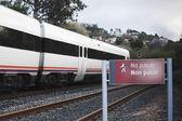 železniční vozy — Stock fotografie