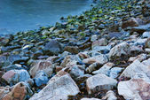 Rocks on the coast — Stock Photo