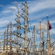 Sailing ships — Stock Photo