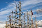 Sailing ships — Stock Photo