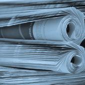 Rotoli di giornali — Foto Stock