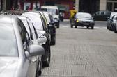 Tráfico en las calles — Foto de Stock