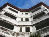 Scuola abbandonata — Foto Stock