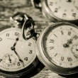Old clocks — Stock Photo