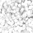 White note papers  background — Stock Photo