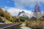 One of the peaks of the Pyrenees — 图库照片