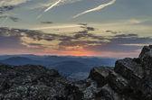 Seconds before sunrise — Stock Photo