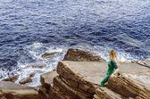 Okyanusa bakarak — Stok fotoğraf