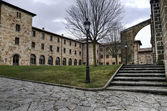 Klooster werf — Stockfoto