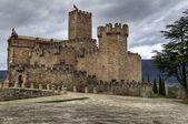 Oude kasteel — Stockfoto