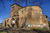 Abandoned church — Foto Stock