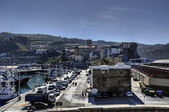 AView over the Getaria city — Stock Photo