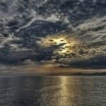 Ocean sunset — Stock Photo #47256467