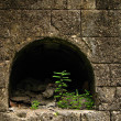 Stock Photo: Old Open Stone Burial Tomb