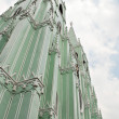 Metal Prefabricated Church — Stock Photo
