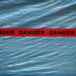 Red Danger Tape — Stock Photo #25606669