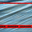 Red Danger Tape — Stock Photo