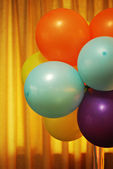 Vintage Looking Party Balloons — Stock Photo