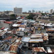 Stock Photo: Squatter Shacks and Houses in Slum UrbArea