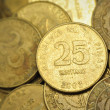 25 Centavo Philippine Coins — Stock Photo #25616677